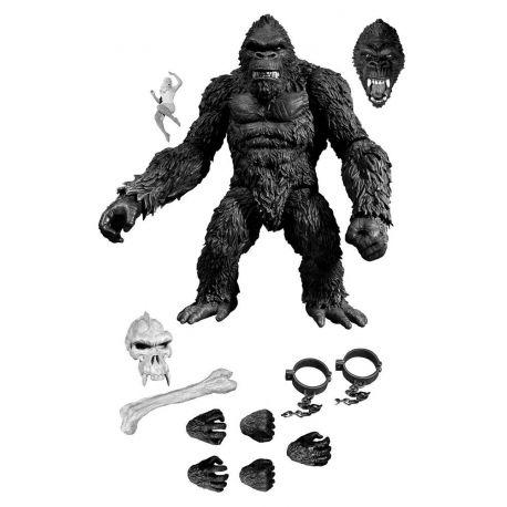 King Kong figurine King Kong of Skull Island Previews Exclusive Black & White Version Mezco Toys