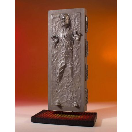 Star Wars statuette Collectors Gallery 1/8 Han Solo in Carbonite Gentle Giant