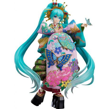 Character Vocal Series 01 statuette 1/7 Hatsune Miku Chokabuki Kuruwa Kotoba Awase Kagami Ver. Good Smile Company