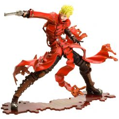 Trigun Badlands Rumble statuette ARTFX J 1/8 Vash The Stampede Renewal Package Version Kotobukiya