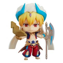 Fate/Grand Order figurine Nendoroid Caster/Gilgamesh Ascension Ver. Orange Rouge