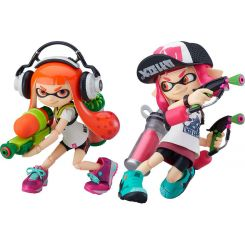 Splatoon / Splatoon 2 figurines Figma Splatoon Girl Good Smile Company
