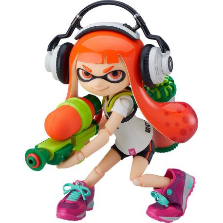 Splatoon figurine Figma Splatoon Girl Good Smile Company