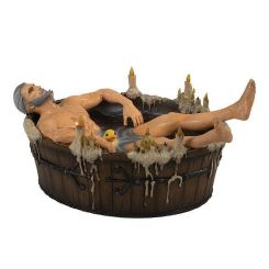 The Witcher 3 Wild Hunt statuette Geralt in the Bath Dark Horse