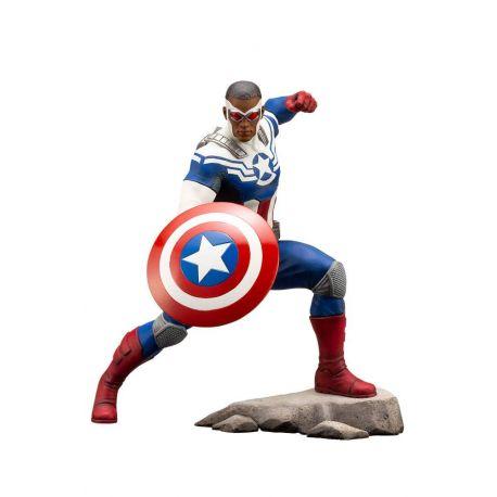 Marvel Comics statuette ARTFX+ 1/10 Captain America (Sam Wilson) Kotobukiya