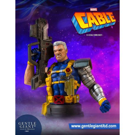 Marvel buste 1/6 Cable Gentle Giant