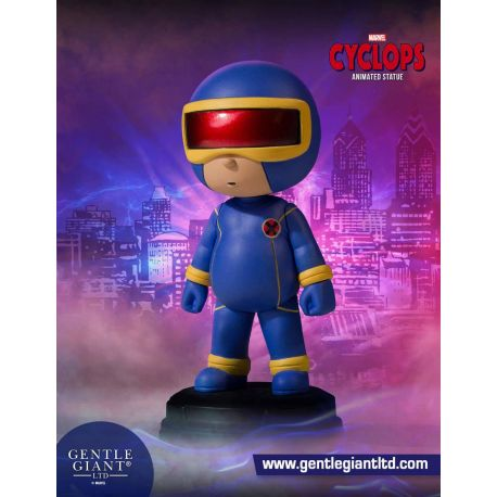 Marvel Comics mini statuette Animated Series Cyclops Gentle Giant