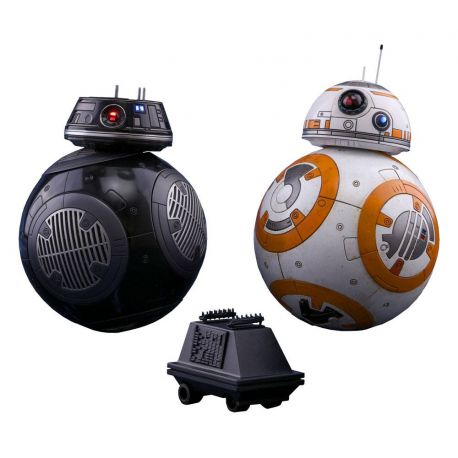 Star Wars Episode VIII pack 2 figurines Movie Masterpiece 1/6 BB-8 & BB-9E Hot Toys