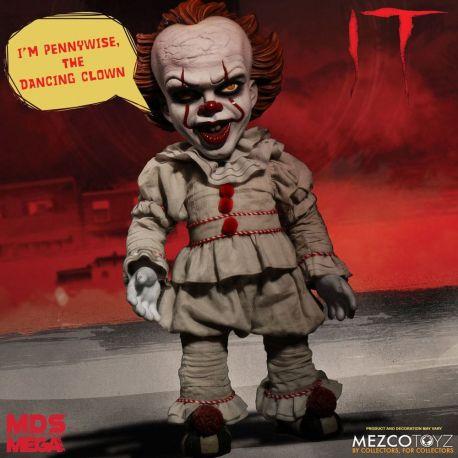 « Il » est revenu 2017 poupée parlante Designer Series Pennywise Mezco Toys