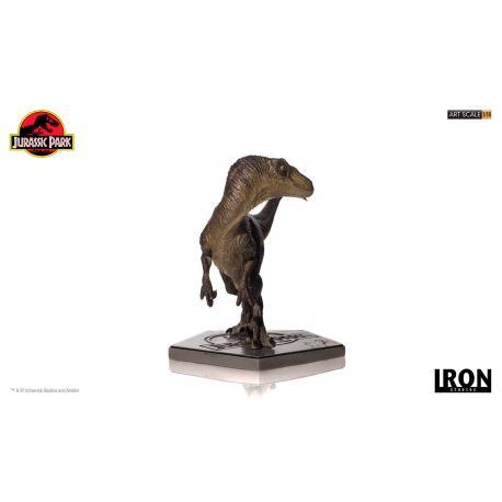Jurassic Park Statuette 1/10 Art Scale Velociraptor Iron Studios