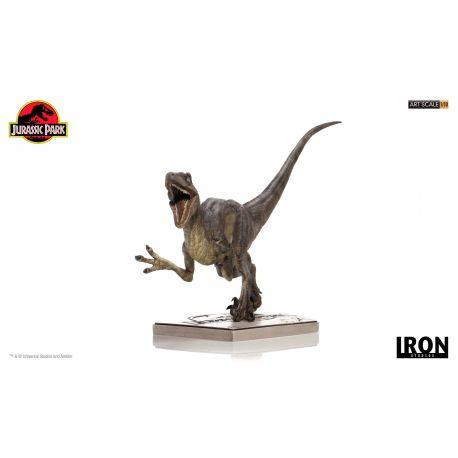 Jurassic Park Statuette 1/10 Art Scale Velociraptor Attack Iron Studios