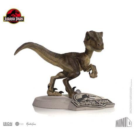 Jurassic Park figurine Mini Co. Velociraptor Iron Studios