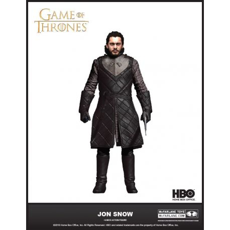 Game of Thrones figurine Jon Snow McFarlane Toys