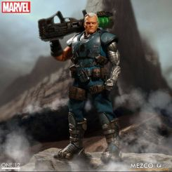 Marvel Universe figurine lumineuse 1/12 Cable Mezco Toys