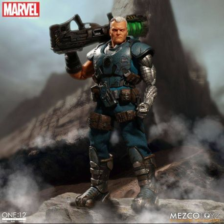 Marvel Universe figurine lumineuse 1/12 Cable Mezco Toys