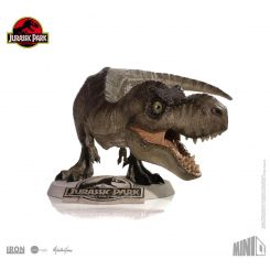 Jurassic Park figurine Mini Co. Tyrannosaurus Rex Iron Studios