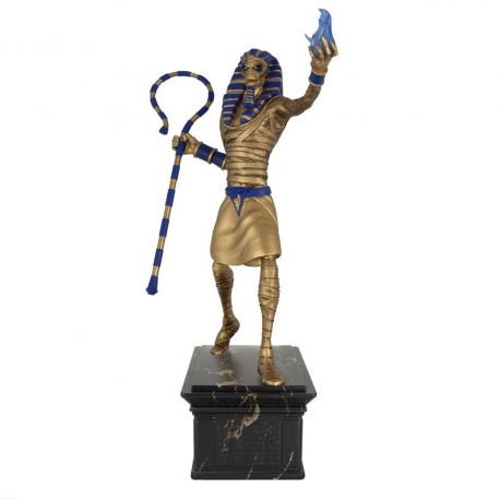 Iron Maiden Legacy of the Beast statuette 1/10 Powerslave Eddie Golden Idol Incendium