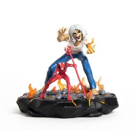 Iron Maiden Legacy of the Beast statuette 1/24 Number of the Beast Eddie Incendium