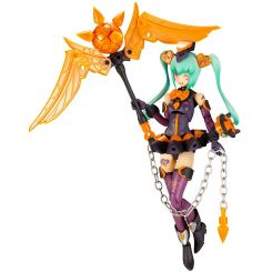 Megami Device Chaos & Pretty figurine Plastic Model Kit 1/1 Magical Girl Darkness Kotobukiya