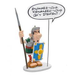 Asterix statuette Collectoys Collection Bulles Le Légionnaire Romain Engagez-vous Plastoy