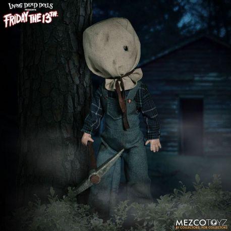 Vendredi 13 Living Dead Dolls poupée Jason Voorhees Deluxe Edition Mezco Toys