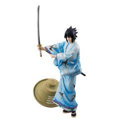 Naruto statuette G.E.M. Sasuke Uchiha Kabuki Ver. Megahouse