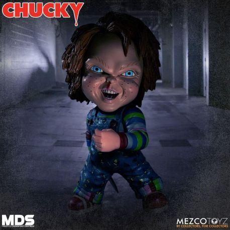 Chucky Jeu d´enfant 3 poupée Designer Series Deluxe Chucky Mezco Toys