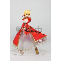 Fate/Extra Last Encore statuette Saber of Red Nero (Game-prize) Taito Prize