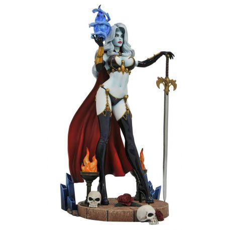 Femme Fatales statuette Lady Death IV Diamond Select