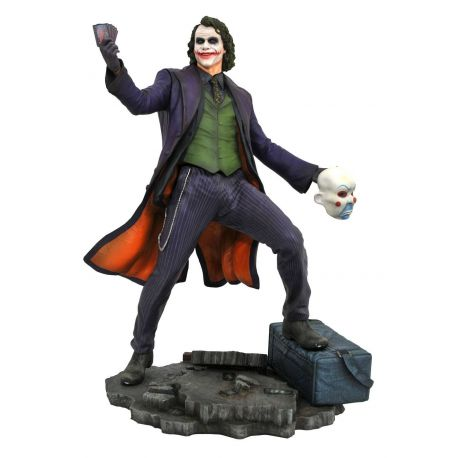 The Dark Knight DC Movie Gallery statuette The Joker Diamond Select