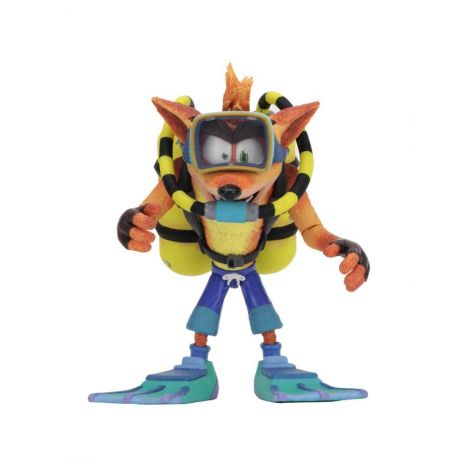 Crash Bandicoot figurine Deluxe Scuba Crash Neca