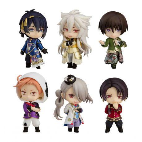Touken Ranbu The Musical -Atsukashiyama Ibun- pack 6 figurines Nendoroid Petite ORANGE ROUGE