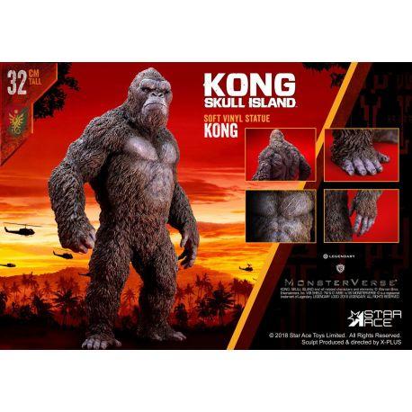 Kong Skull Island statuette Soft Vinyl Kong Star Ace Toys