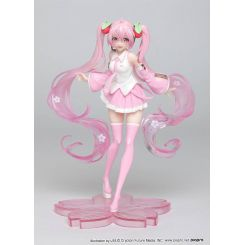 Vocaloid statuette Hatsune Miku Sakura Miku Taito Prize