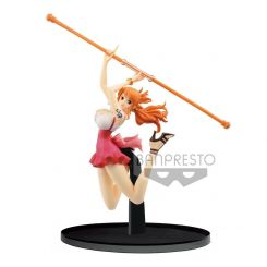 One Piece statuette BWFC Nami Normal Color Ver. Banpresto