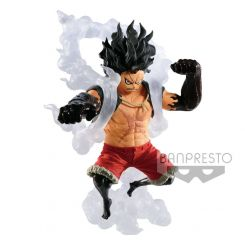One Piece statuette King Of Artist Snakeman Luffy Banpresto