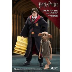 Harry Potter pack 2 figurines Real Master Series 1/8 Harry & Dobby Star Ace Toys