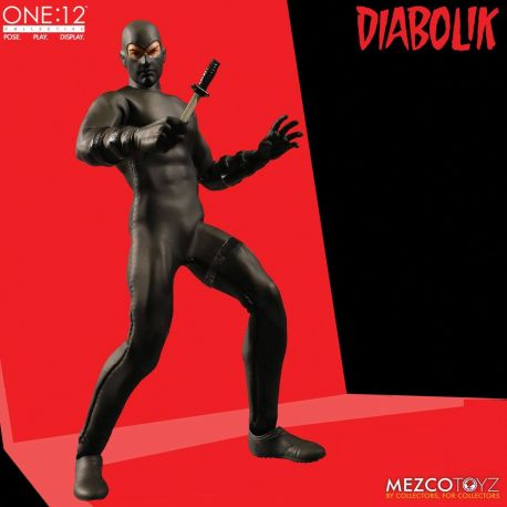 Diabolik figurine 1/12 Mezco Toys