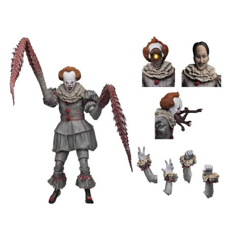 « Il » est revenu 2017 figurine Ultimate Pennywise (Dancing Clown) Neca