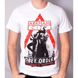 T-Shirt Batman Arkham City Obey Order 2