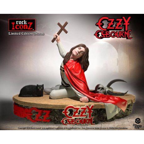 Ozzy Osbourne statuette Rock Iconz 1/9 Ozzy Osbourne II Knucklebonz