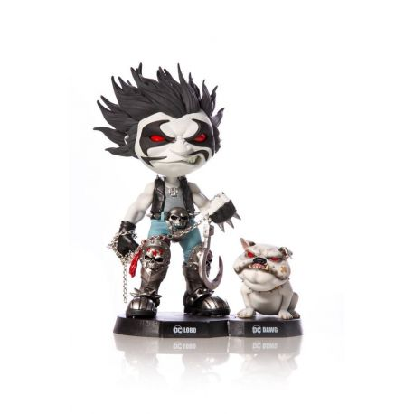DC Comics figurine Mini Co. Lobo & Dawg Iron Studios