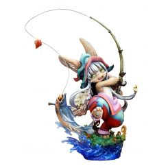Made in Abyss statuette 1/8 Nanachi Gankimasu Fishing Ques Q