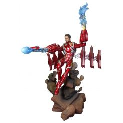 Avengers Infinity War Marvel Movie Gallery statuette Iron Man MK50 Unmasked Diamond Select