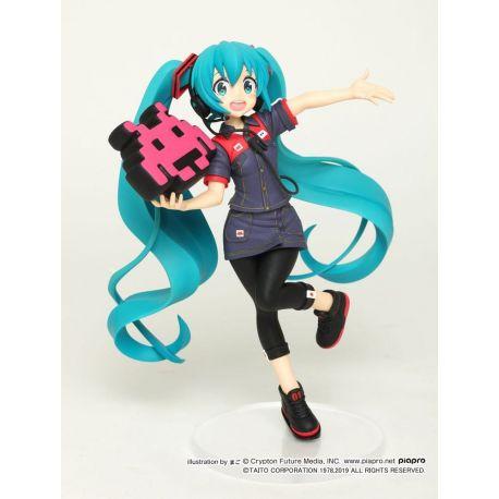 Vocaloid statuette Hatsune Miku Taito Uniform Version 2 Taito Prize