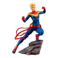 Marvel Universe Avengers Series statuette ARTFX+ 1/10 Captain Marvel Kotobukiya