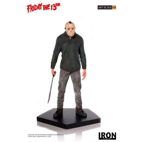 Vendredi 13 statuette Art Scale 1/10 Jason Iron Studios