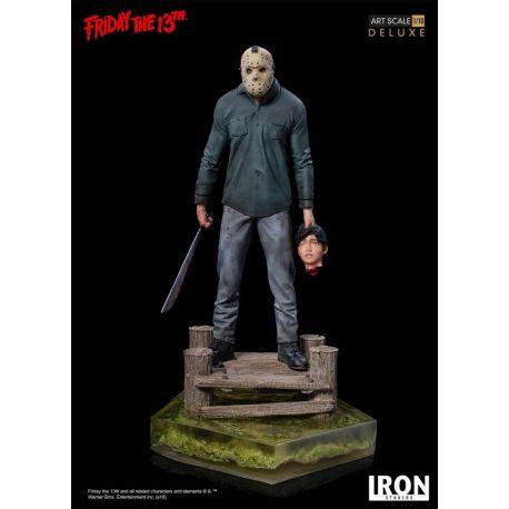 Vendredi 13 statuette Art Scale 1/10 Jason Deluxe Iron Studios