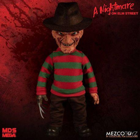 Nightmare On Elm Street figurine parlante Mega Scale Freddy Krueger Mezco Toys