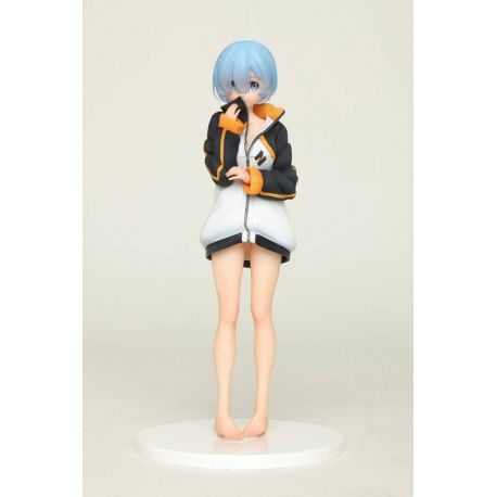 Re:Zero statuette Rem Subaru's Training Suit Version Taito Prize
